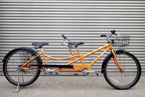 タンデム車(二人こぎ自転車)