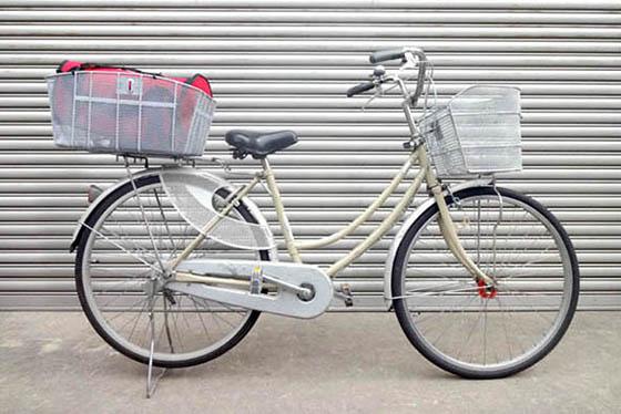 ペット乗せ自転車