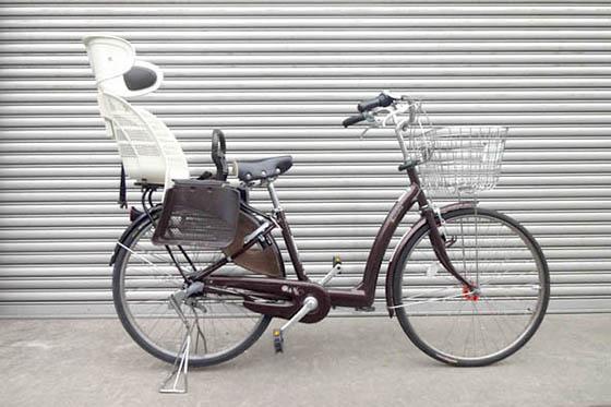 後乗せ自転車