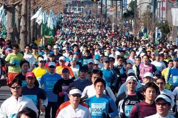 勝田全国マラソン大会