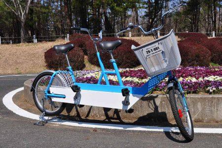 タンデム車(二人こぎ自転車)2