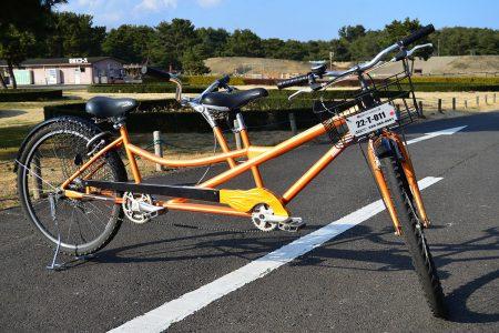 タンデム車(二人こぎ自転車)1