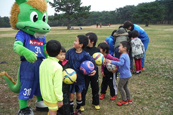 水戸ホーリーホック親子サッカー教室